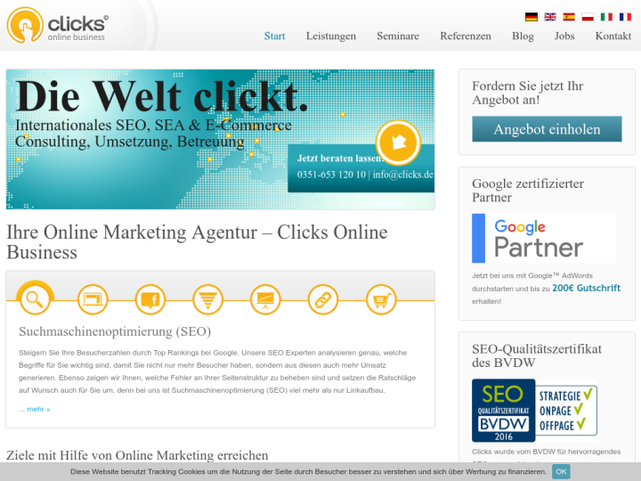 Clicks Online Business