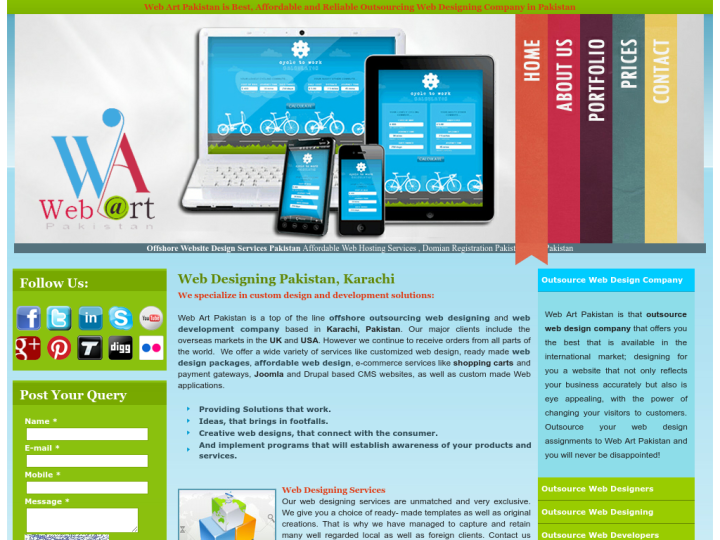 Web Art Pakistan