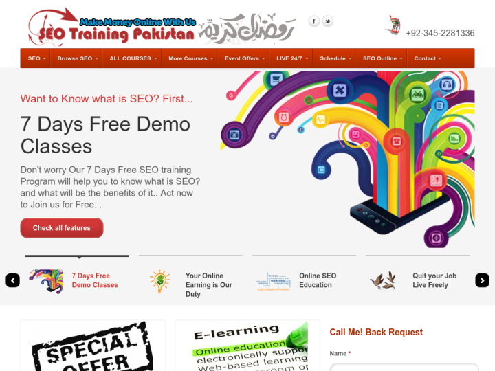 SEO Training Pakistan
