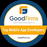 GoodFirms Awards: Best Mobile App Development Company
