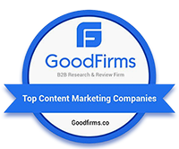 GoodFirms Research: One of the Top Content Marketing Companies