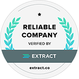 Extract Awards: Most Reliable Company