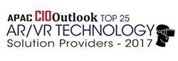APAC CIO Outlook Magazine Awards: Top 25 Augmented/ Virtual Reality Technology Solution Provider 2017
