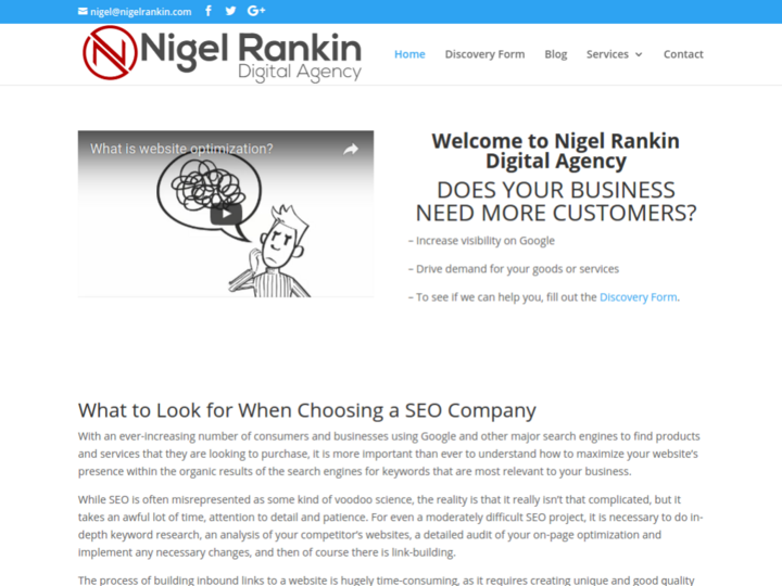 Nigel Rankin Digital Agency