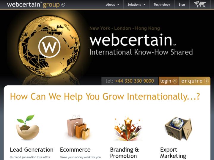 Webcertain Group