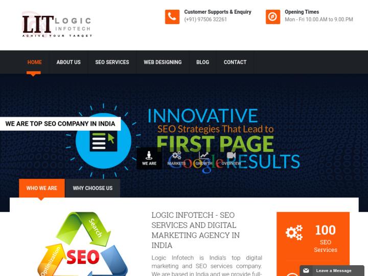 Logic Infotech SEO Company