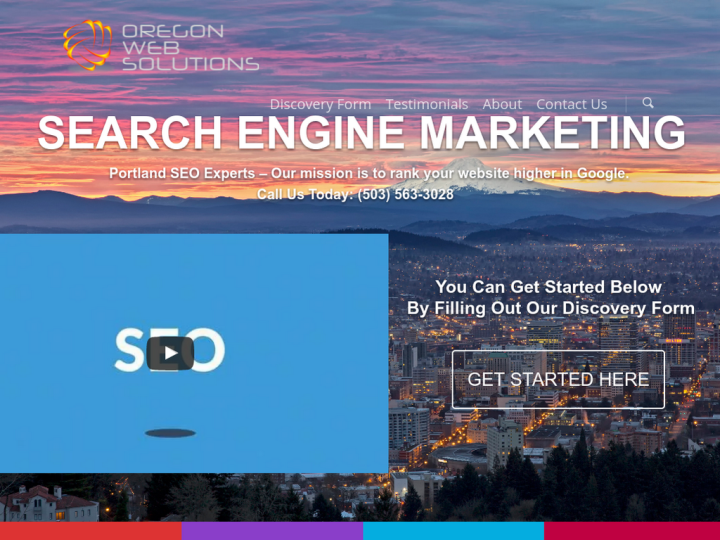Oregon Web Solutions | Portland SEO