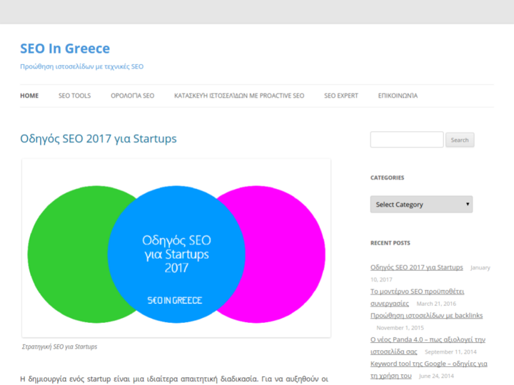 SEO In Greece