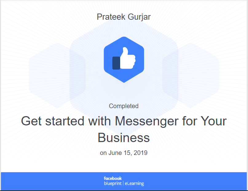 Facebook Certification For Messenger For Your Business