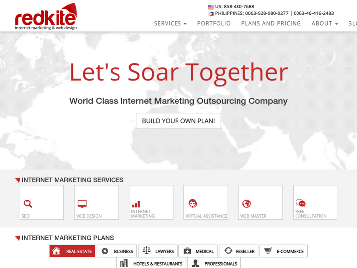 Redkite Digital Marketing and Web Designs SEO Outsourcing Philippines