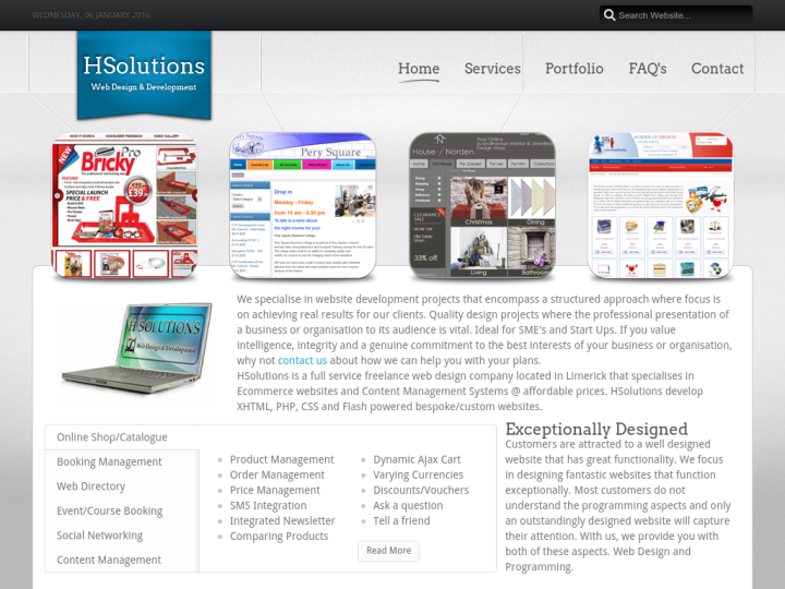 HSolutions Web Design