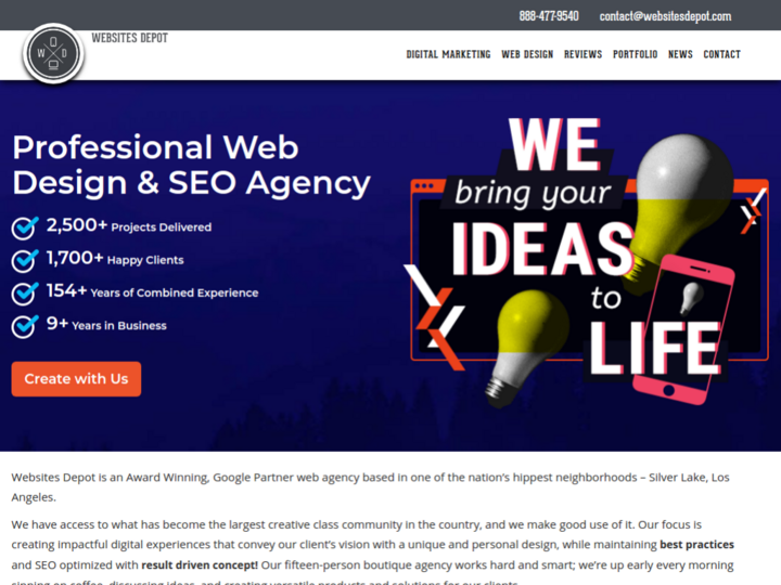 Websites Depot Inc