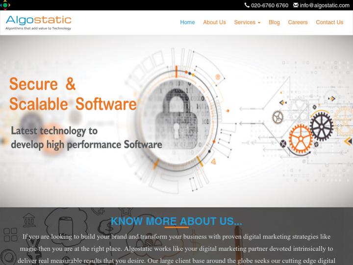Algostatic Technologies Pvt Ltd