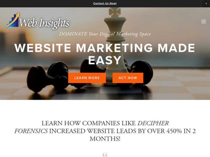 Web Insights, LLC