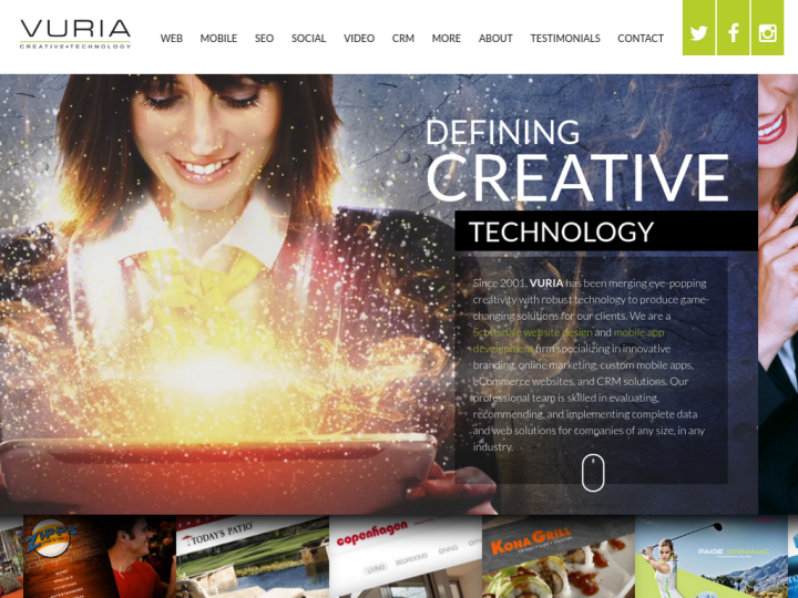 Vuria Creative Technology