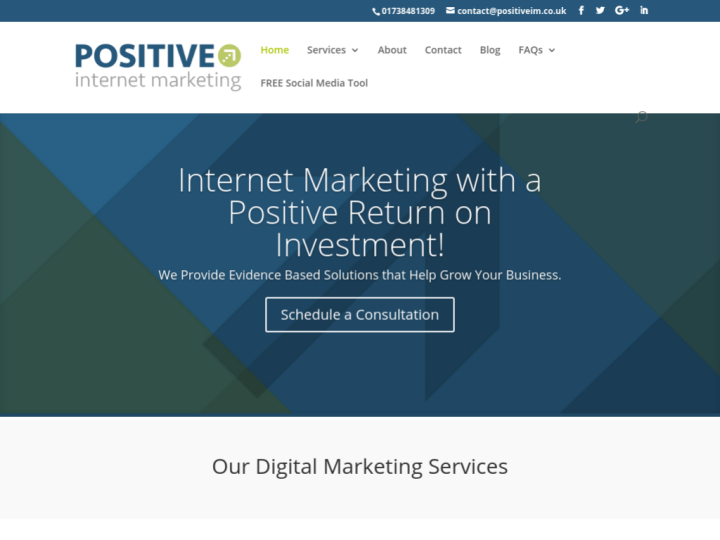Positive Internet Marketing Ltd