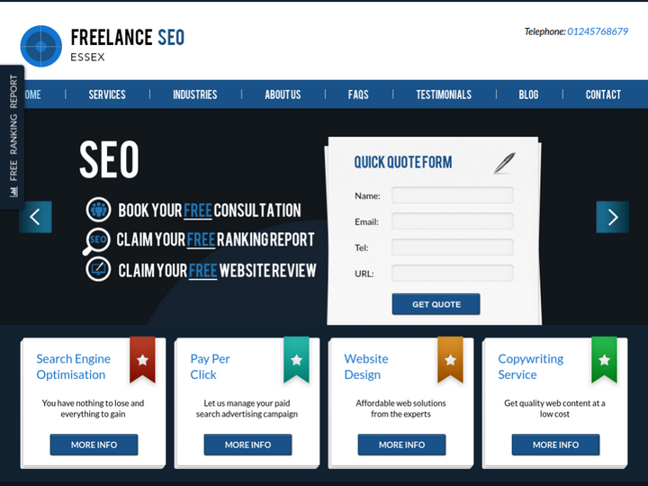 Freelance SEO Essex