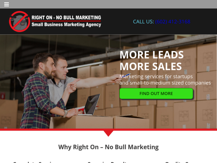 Right On - No Bull Marketing