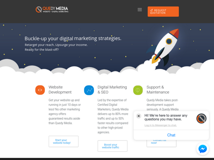 Quedy Media -Web Development and Digital Marketing