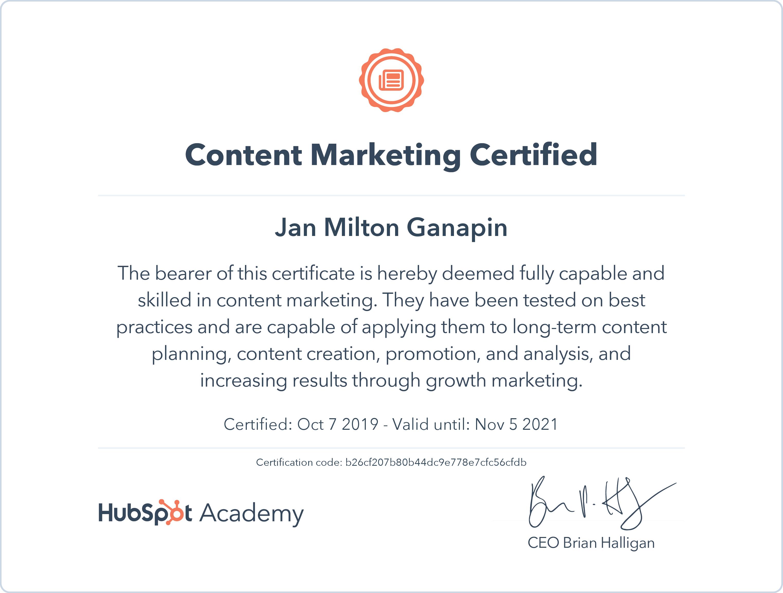 Content Marketing - Hubspot