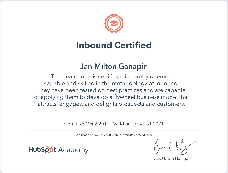 Inbound Marketing - Hubspot
