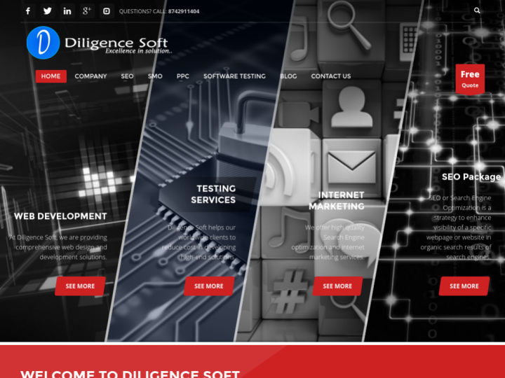 Diligencesoft Services private limited