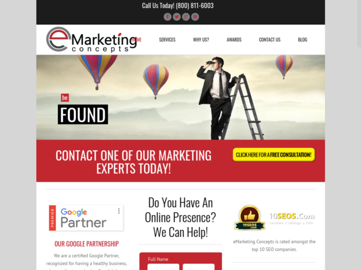 E Marketing Concepts
