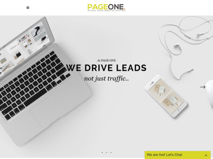 PAGE ONE SEO & ONLINE MARKETING LTD.