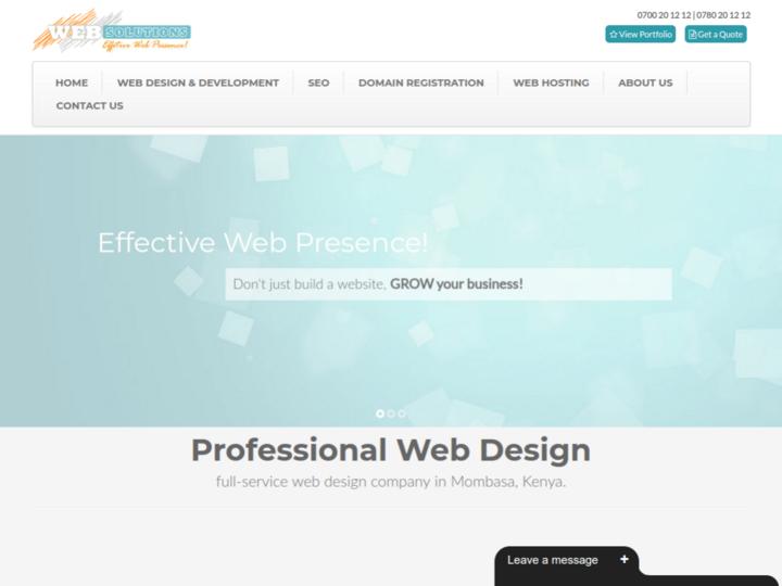 Web Solutions Kenya