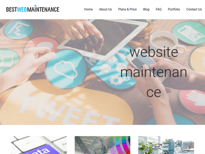 Best Web Maintenance