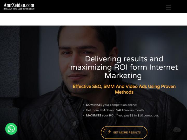 AmrZeidan.com - Internet Marketing Consultant