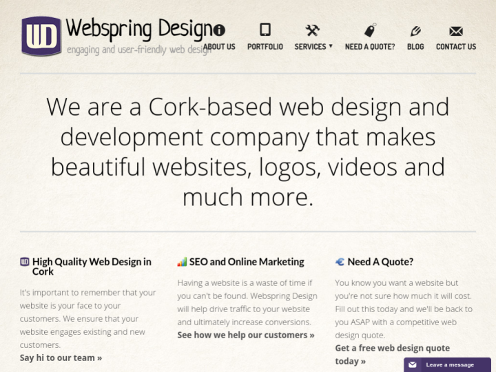 Webspring Design