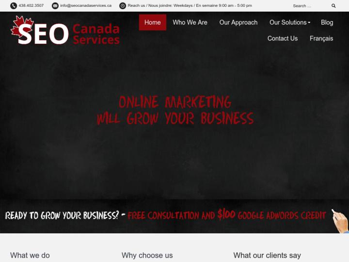 SEO Canada Services