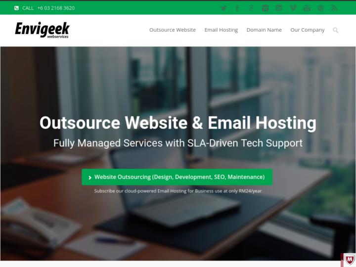 Envigeek Web Services