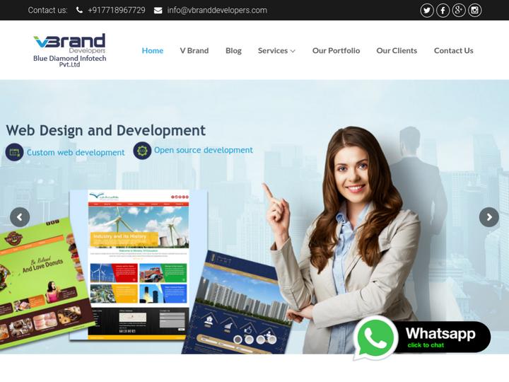 V Brand developers