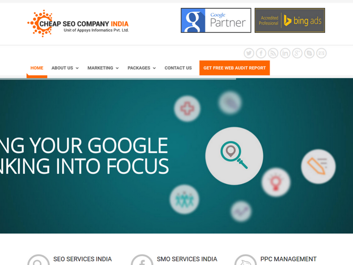 Cheap SEO Company India