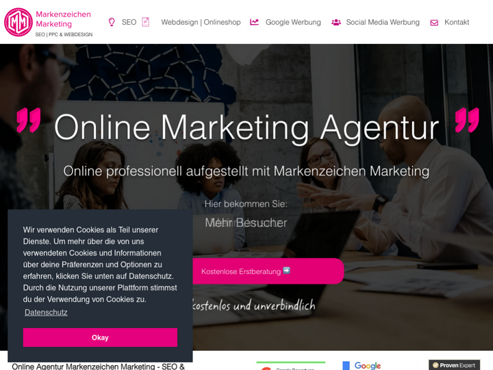Markenzeichen Marketing - SEO & Online Marketing
