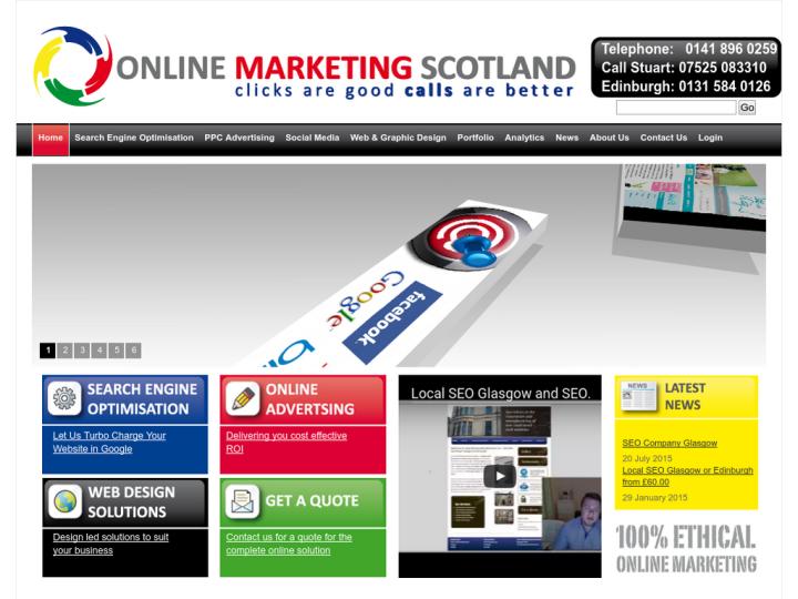 Online Marketing Scotland