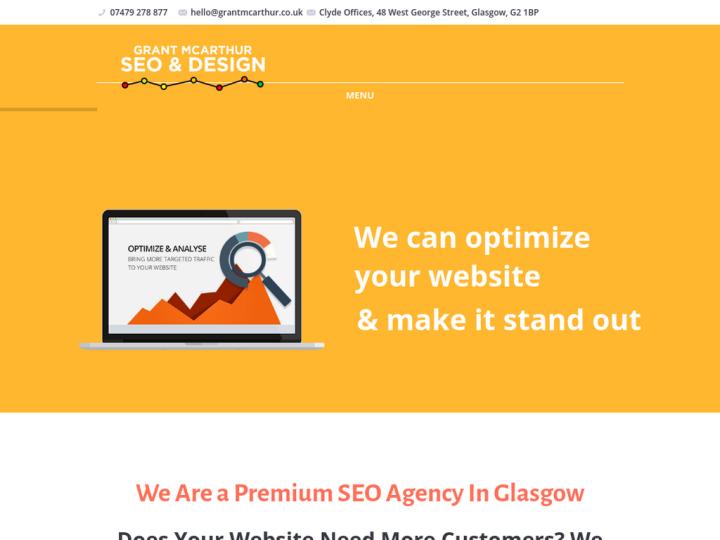 Grant McArthur SEO & Design
