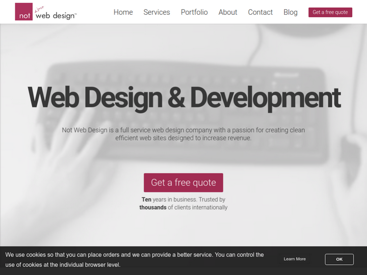 Not Web Design