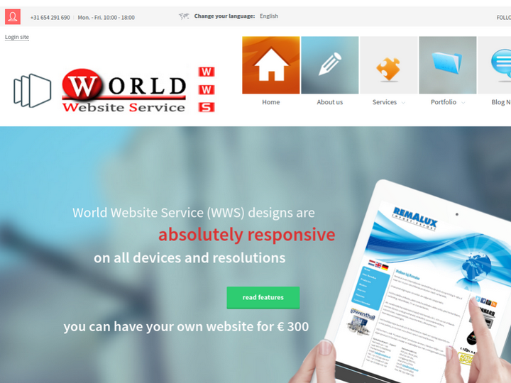 World Website Service