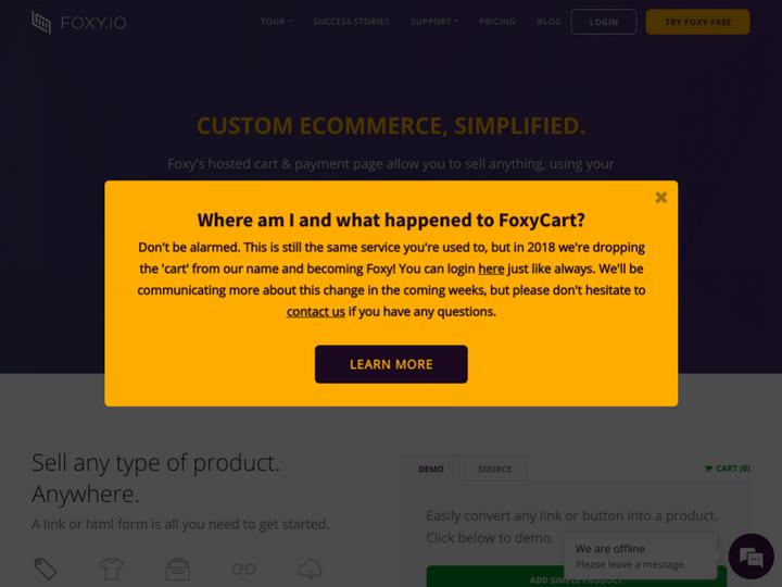 FoxyCart