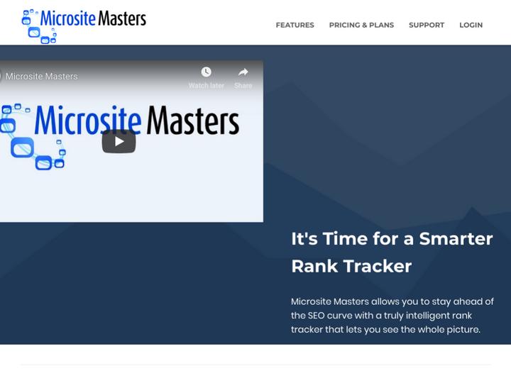 Microsite Masters
