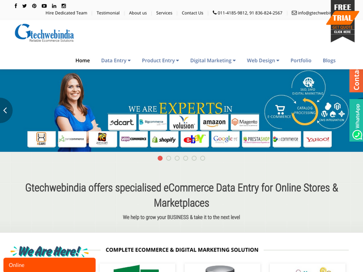 Gtechwebindia SEO Services