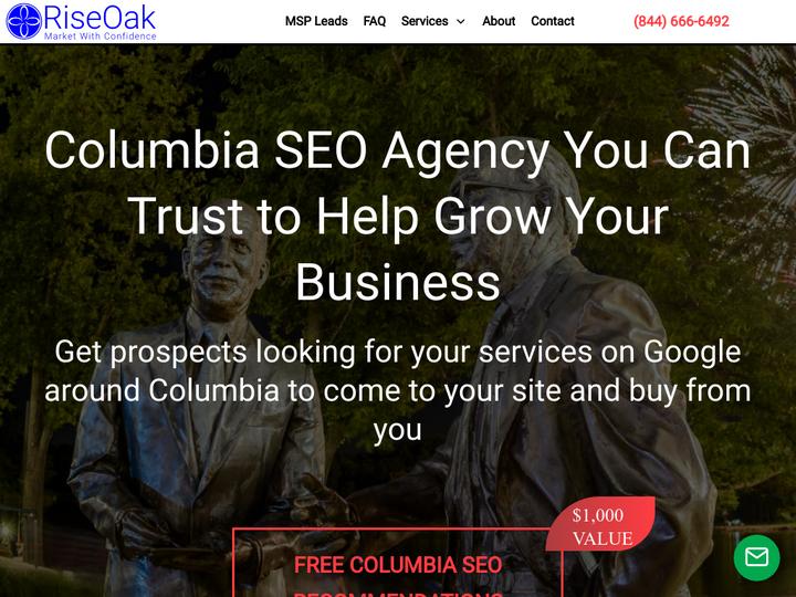RiseOak - Columbia SEO Company