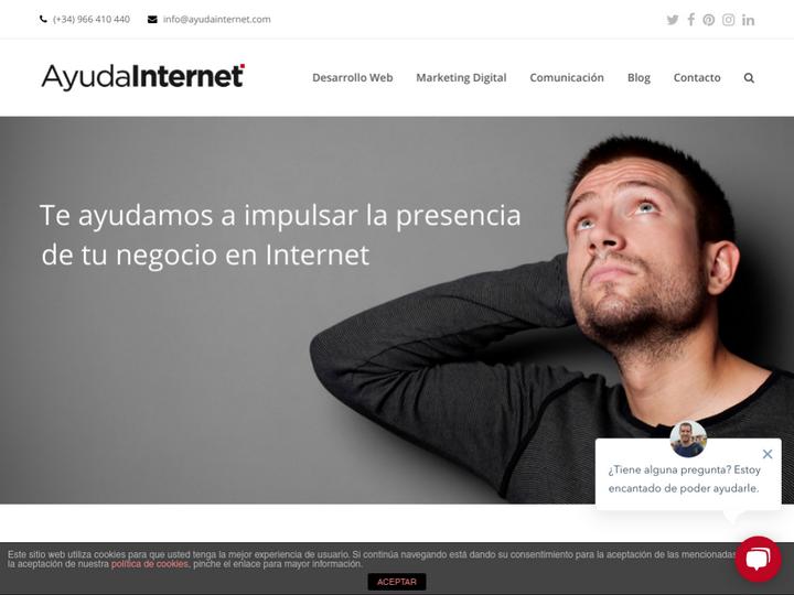 Ayuda Internet