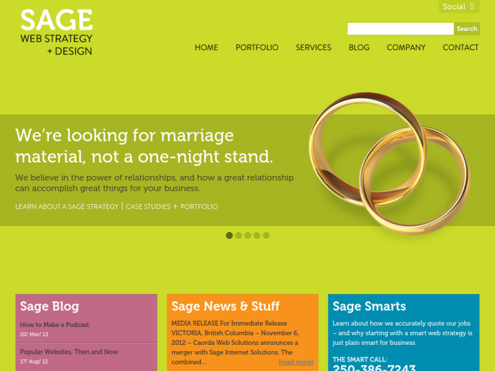 Sage Web Strategy + Design