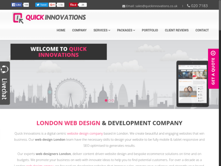 Quick Innovations Ltd