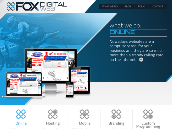 Fox Digital Web