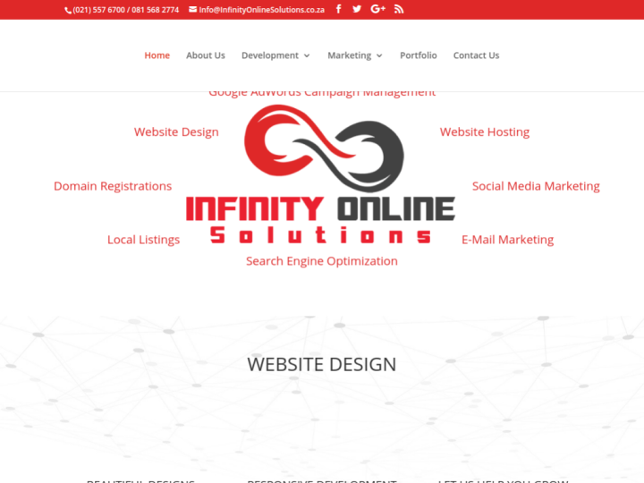 Infinity Online Solutions